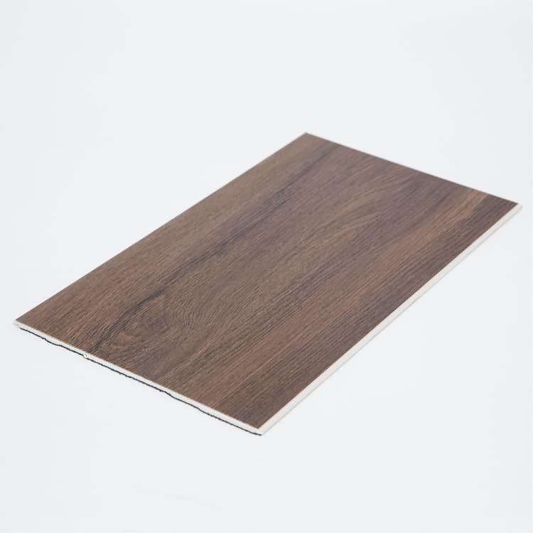 waterproof Deep wooden SPC heating flooring with cork backing