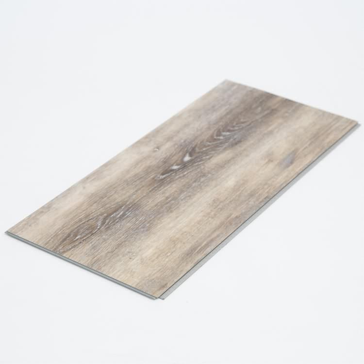 Easy to clean rectified vinyl fireproof pvc floor tile