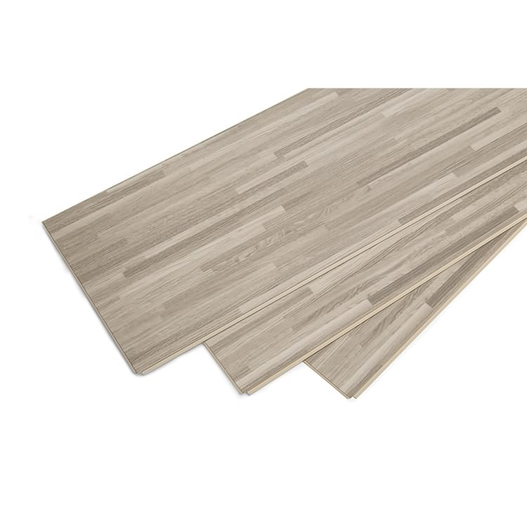 Easy installation wooden look good price SPC heating flooring for dinner room