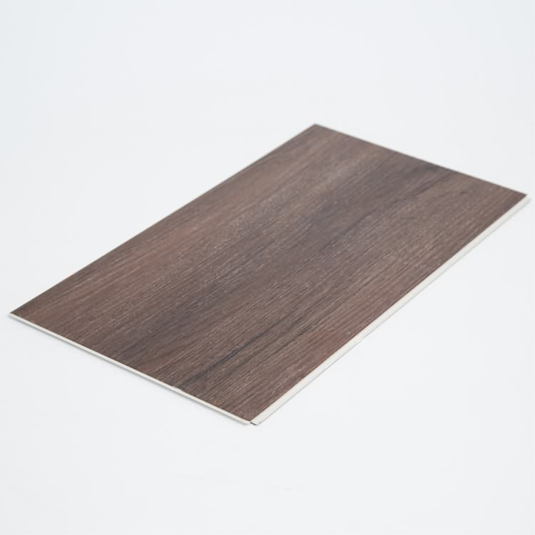 Easy to clean rectified vinyl fireproof pvc floor tile